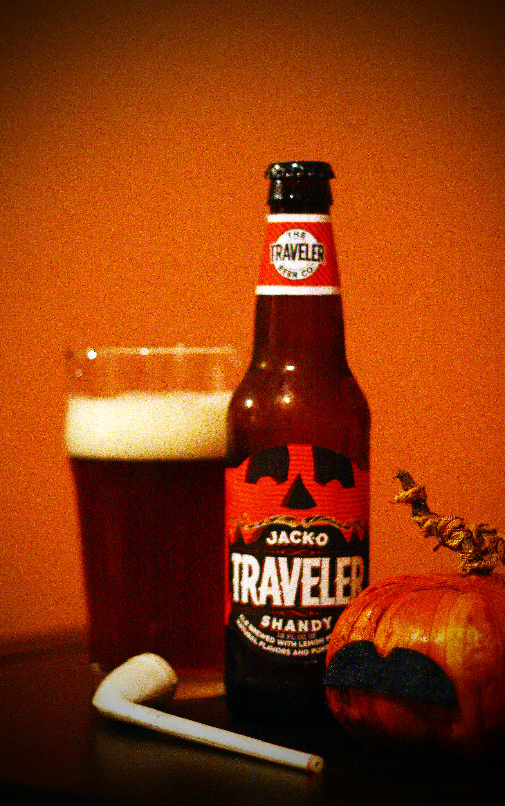 ... Shandy – The Traveler Brewing Co.   The Great Pumpkin Beer Review