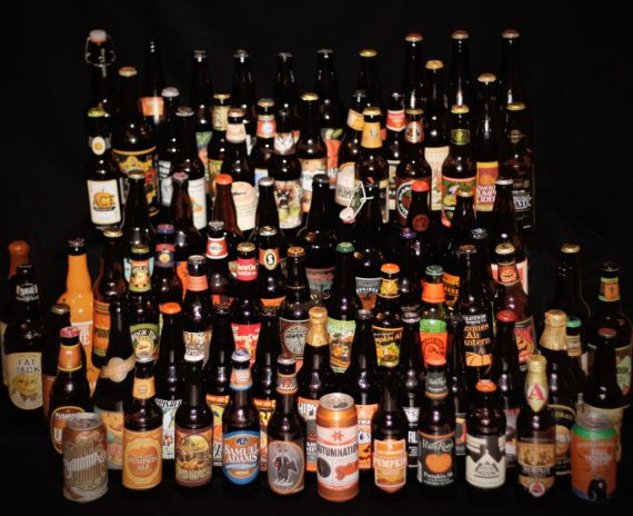Punpkin Beer Set 2014